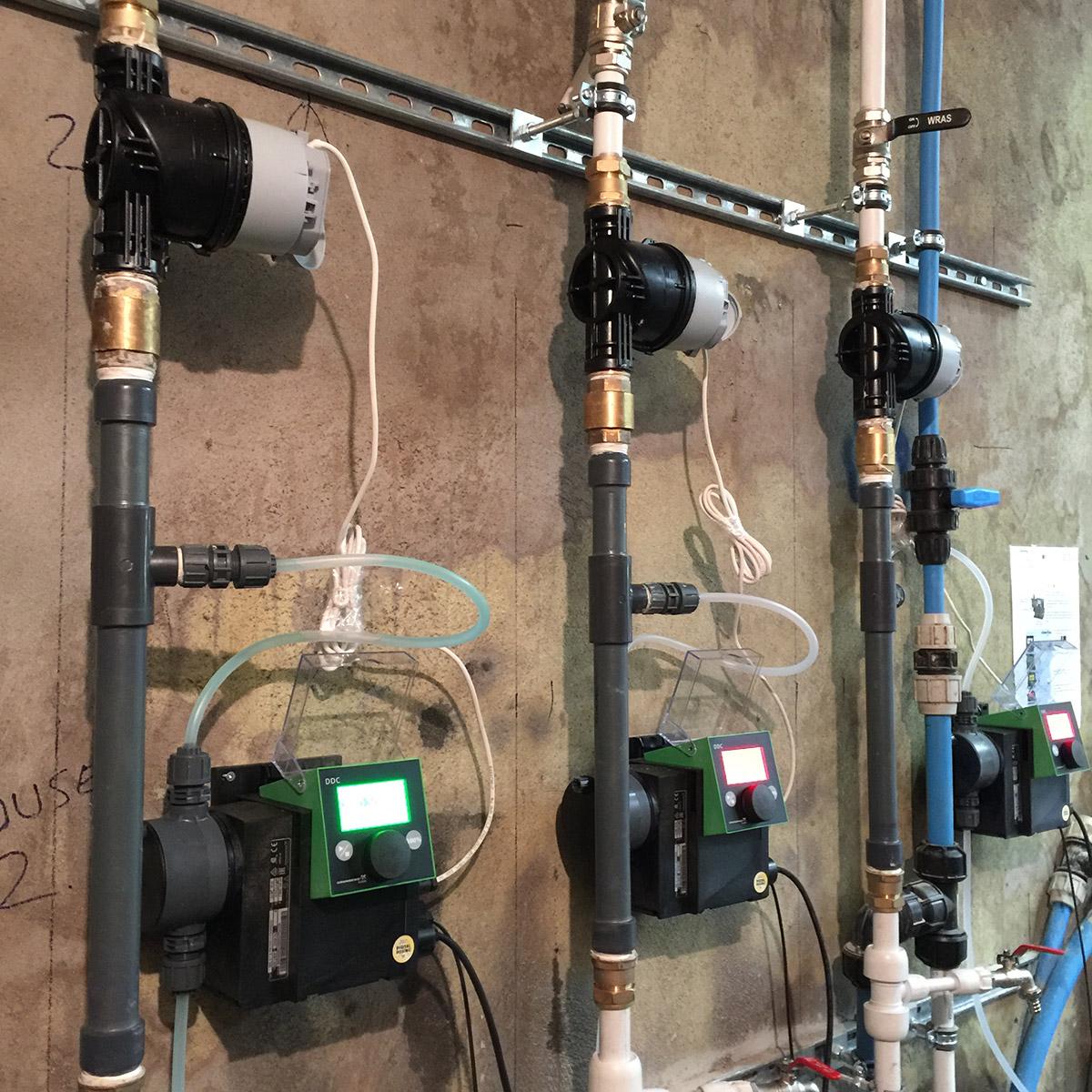 Grundfos pumps dosing system