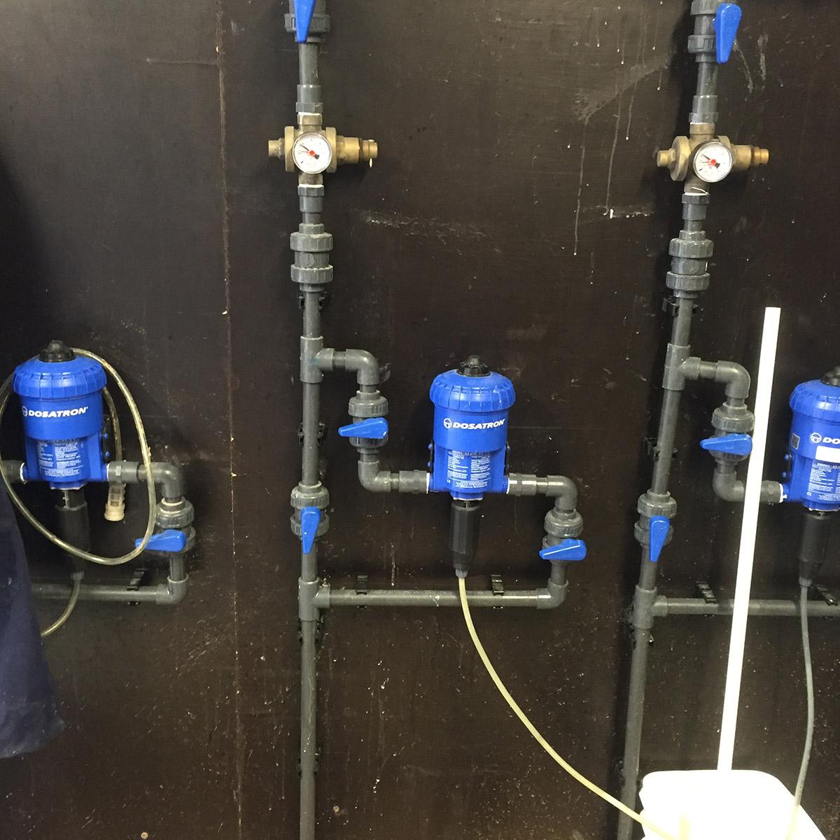 Dosatron pumps dosing system