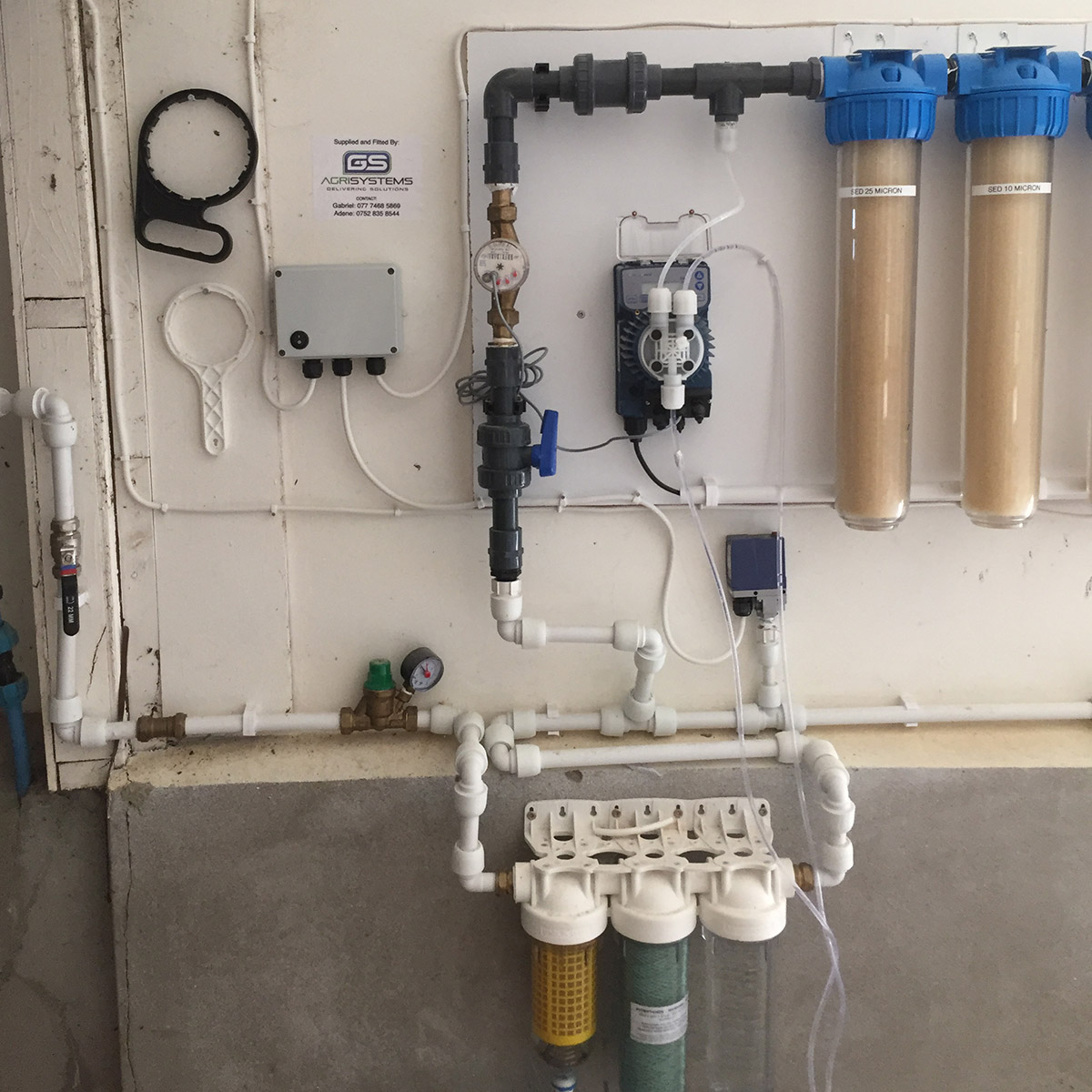 Seko pumps and filters dosing system