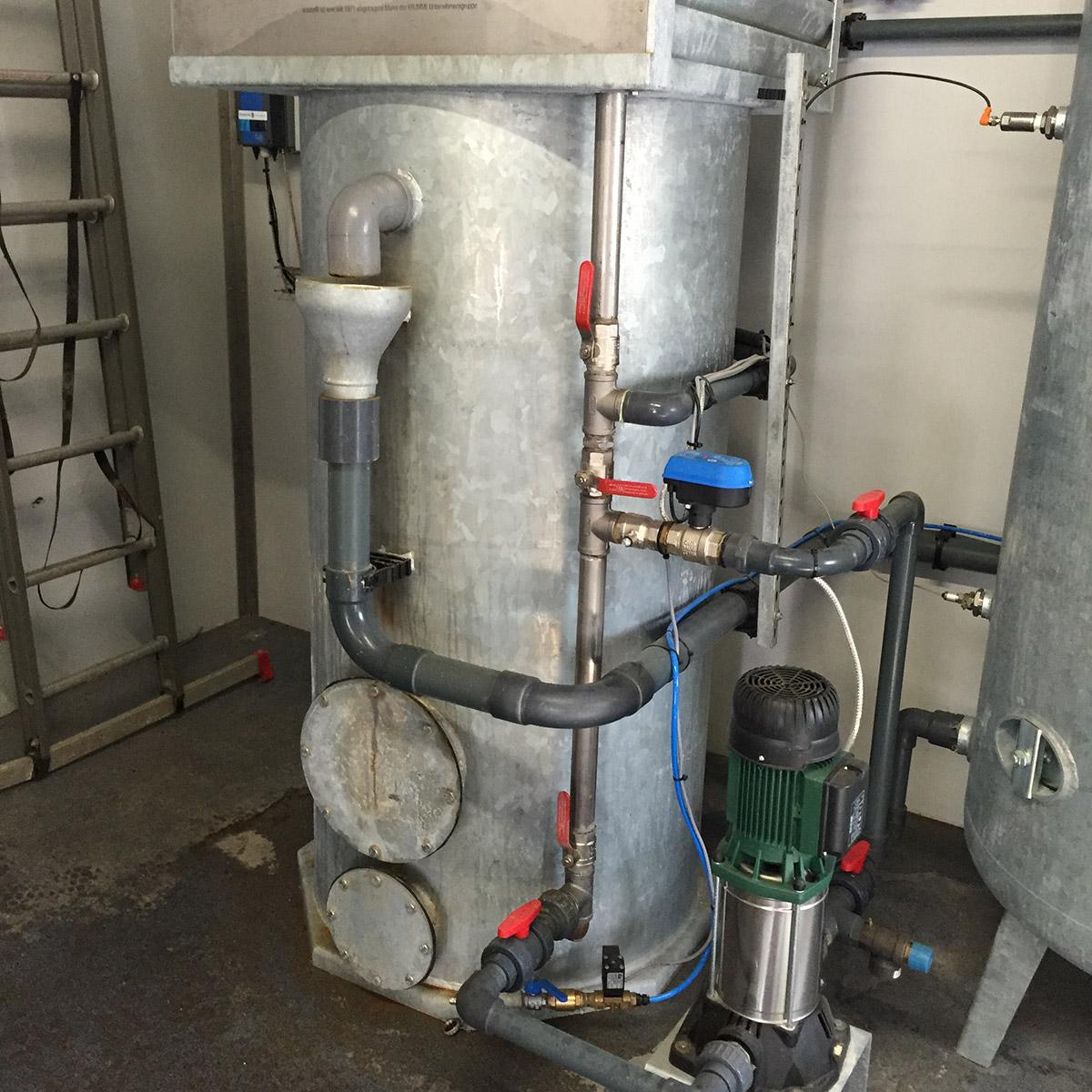 Filtratiojn system