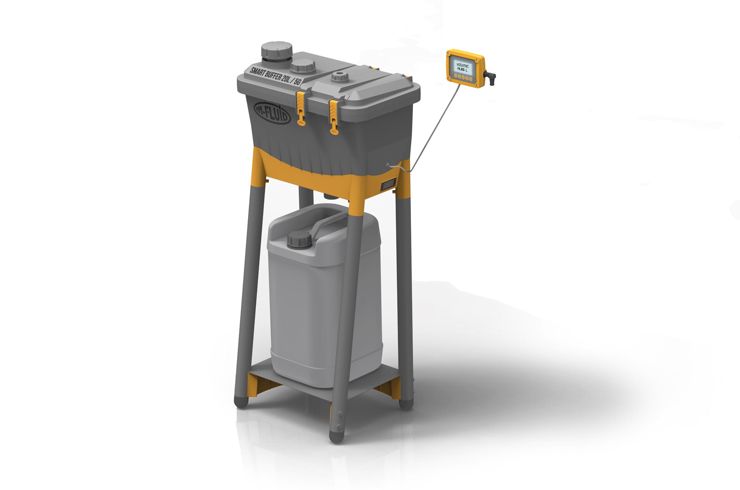 In-fluid smart dosing tank